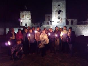 nocne zwiedzanie Krzyżtoporu