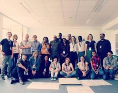 uczestnicy ze Szkół z mocą zmieniania świata