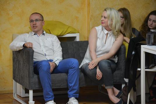 spotkanie z przedstawicielem Arki Gdynia