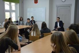 spotkanie z przedstawicielem Tatarów (muzułmanów)