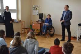 spotkanie z osobą działającą na rzecz osób niepełnosprawnych