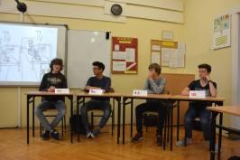 spotkanie z młodzieżą z rodzin wielokulturowych