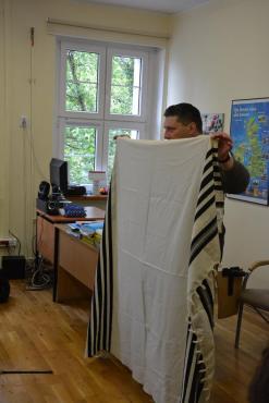 spotkanie z przedstawicielami gminy zydowskiej