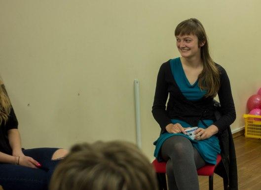 spotkanie ze studentka korzystającą z Erasmusa